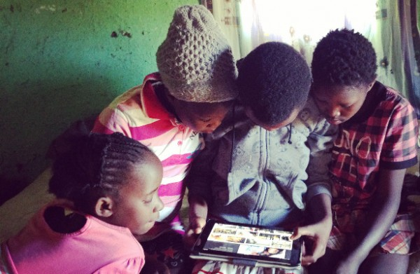 Project Isizwe believes in connectivity for all - with a focus on access for the purposes of education. Photo credit: Project Isizwe